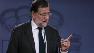 Mariano Rajoy, à Madrid, le 30 octobre 2015.