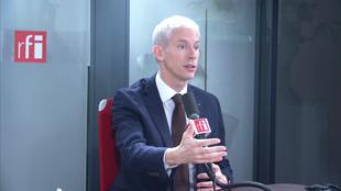 Franck Riester, ministre de la Culture sur RFI le 18 février 2020. Le gouvernement travaille à un plan global en faveur de la presse.