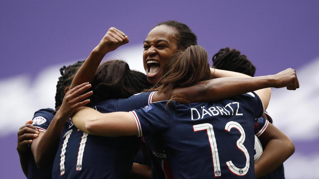 Football/Ligue des champions (F): le PSG sort l'ogre lyonnais en quarts de finale