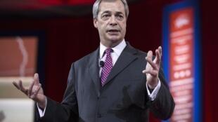 Nigel Farage, le leader de l'Ukip.