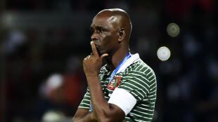 Baciro Candé, Seleccionador da Guiné-Bissau. 22 de Janeiro de 2017.