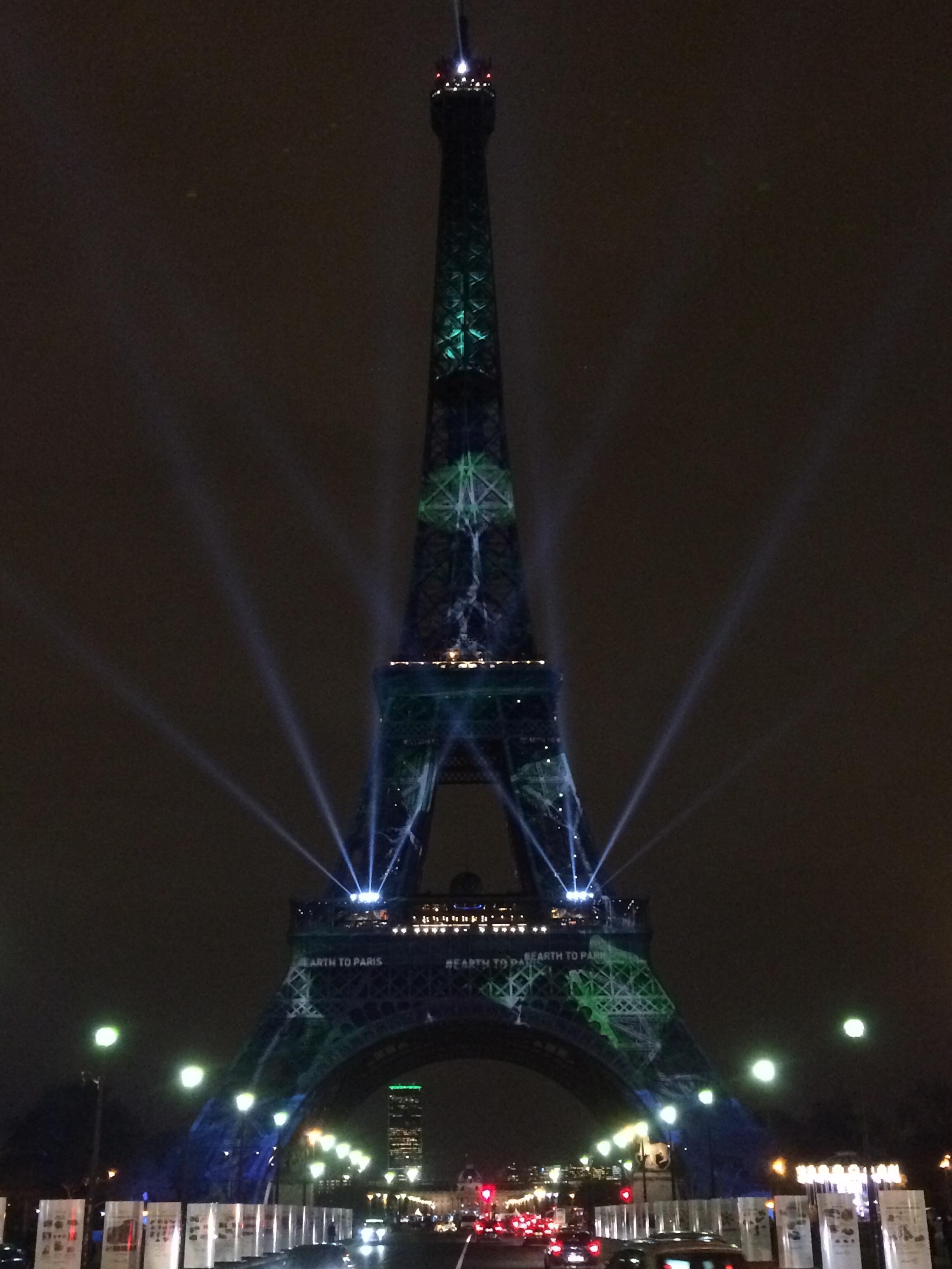 Tour Eiffel  COP21