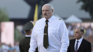 PHOTO Loukanchenko Minsk Biélorussie - 22 juin 2021