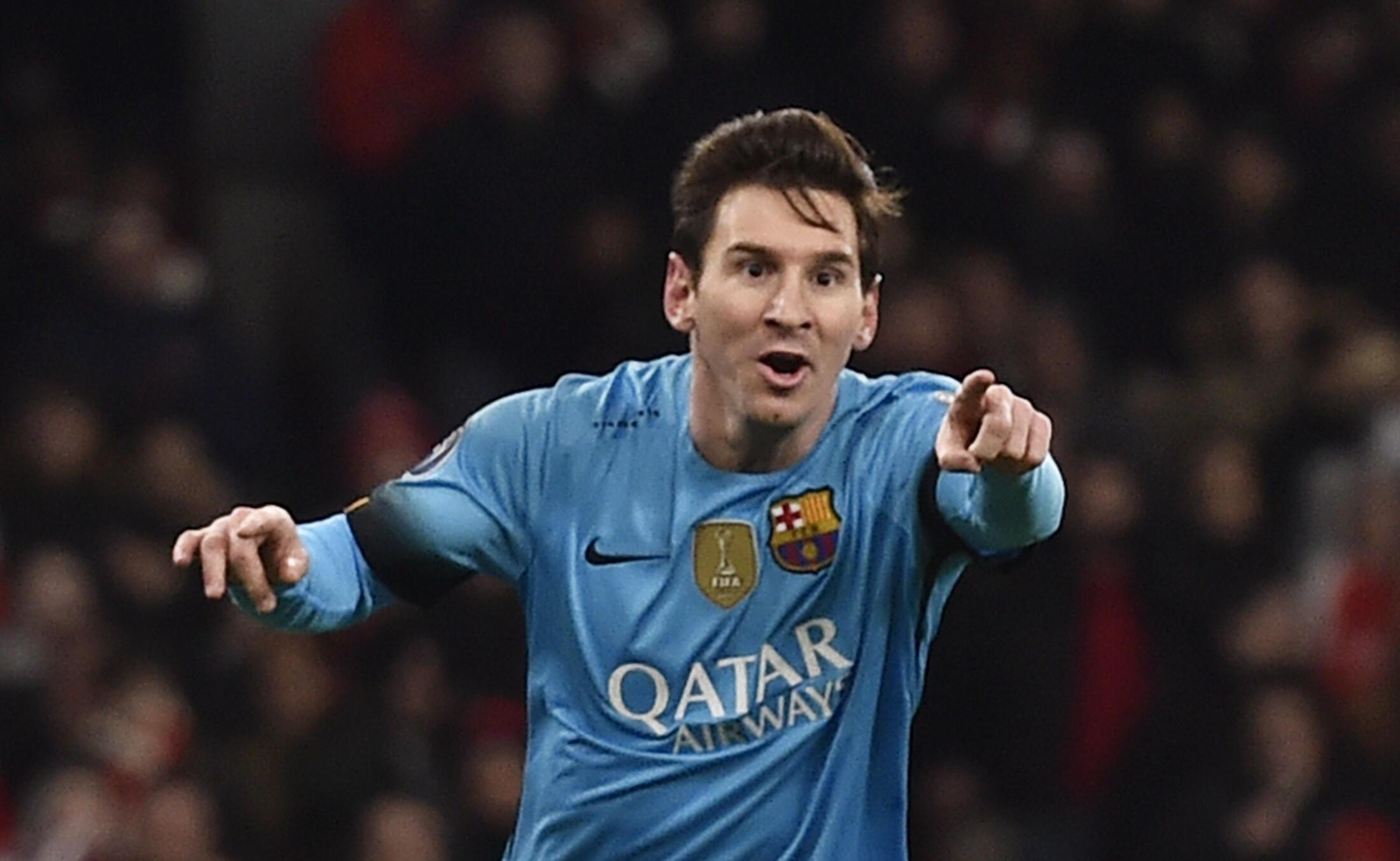 Mshambuliaji wa FC Barcelona, Lionel Messi, ambaye amehukumiwa kifungo cha miezi 21 jela