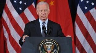美国副总统拜登2011年5月中美论坛时的资料照片。