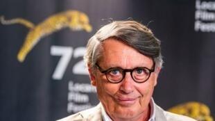 Miguel Lobo Antunes, actor principal no filme Technoboss do português João Nicolau, em competição no Festival de cinema de Locarno.