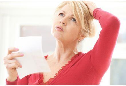 Les bouffées de chaleur sont un des symptômes de la ménopause.