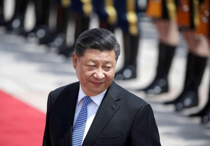 中國國家主席習近平在北京        5月14日