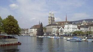 瑞士苏黎世湖畔