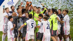 PHOTO Real Madrid Youth League - 25 août 2020
