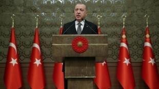 Presidente turco Recep Tayyip Erdogan.