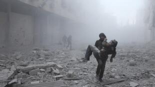 Harin da aka kaddamar a gabashin Ghouta da ke kusa da Damascus ya hallaka mutane da dama