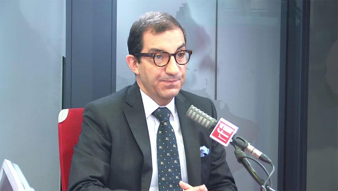 Jean Messiha, délégué national du Rassemblement national dans les studios de RFI, le 4 mars 2020.