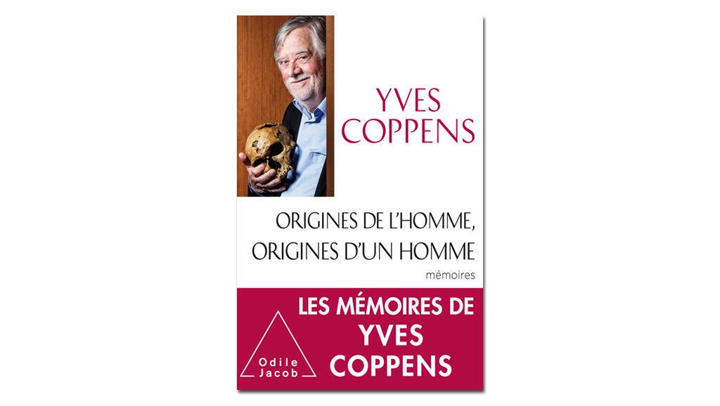 Couverture «Origines de l'homme, origines d'un homme», d'Yves Coppens.