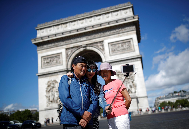 Во Францию в 2017 году приехали 89 миллионов иностранных туристов.