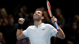 Grigor Dimitrov is the first Bulgarian to appear at the men's end of season championships.
