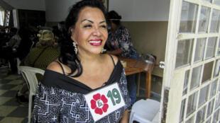 """""""Nosotras somos víctimas de una crueldad tal, nos violan, nos secuestran y nos matan en vida"""", narra la candidata al Congreso de Perú por el partido Frente Amplio Ángela Villón, una exprostituta y activista de los derechos de las trabajadoras sexuales"""