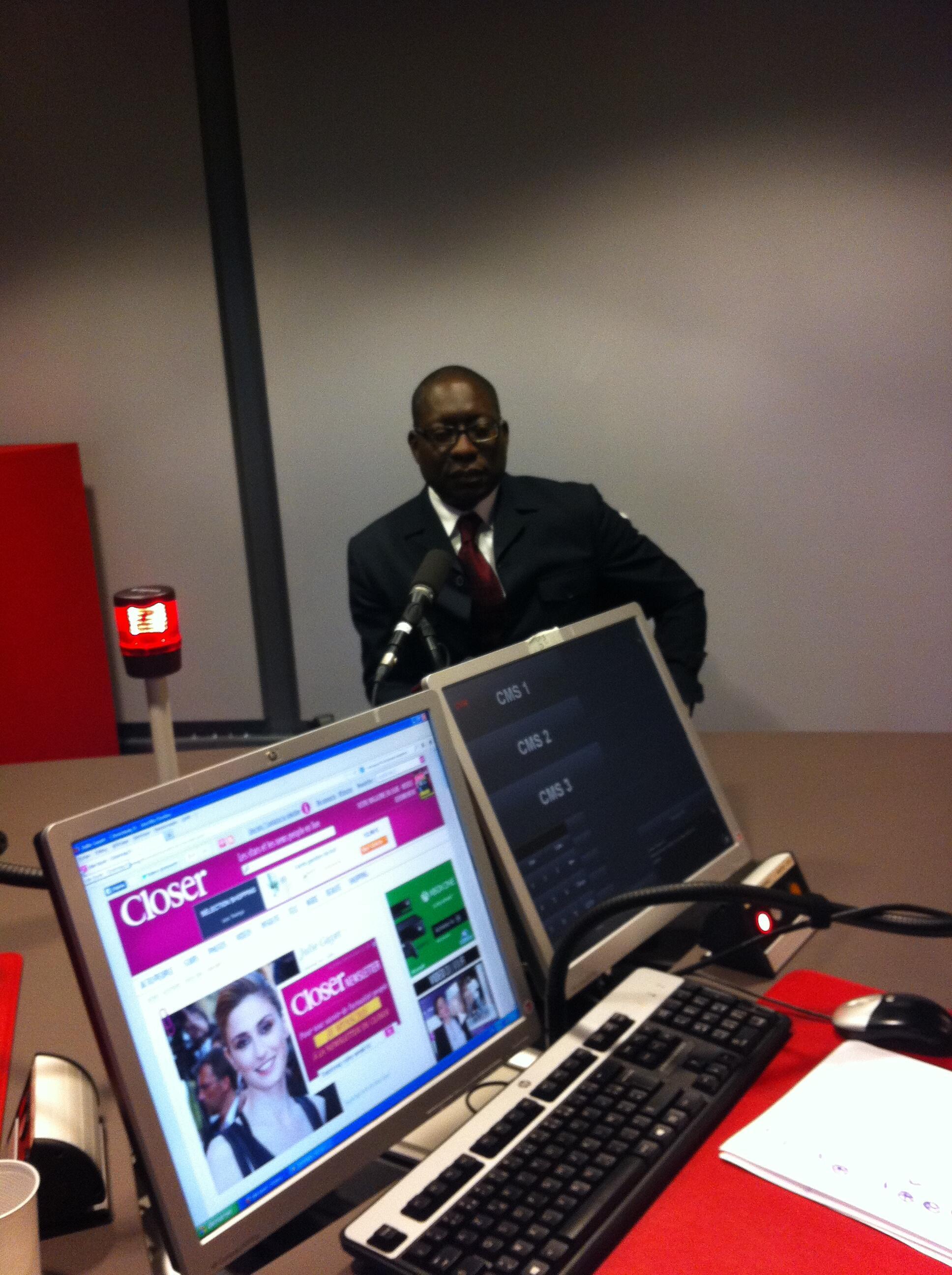 Paulo Gomes, economista guineense, candidato independente às presidenciais de 2014