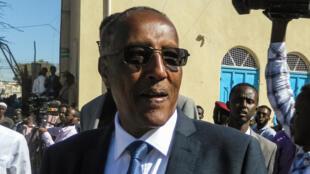 Muse Bihi Abdi, président du Somaliland, le 13 novembre 2017 à Hargeisa.