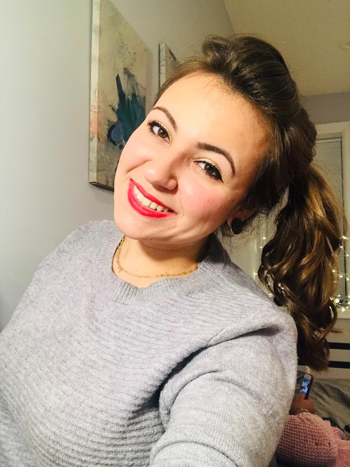 A estudante brasileira Amanda Bianchi Noto cursa Contabilidade no Delaware Community College, no estado de Delaware.
