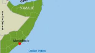 Carte de la Somalie.