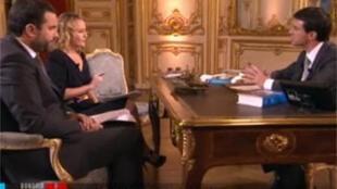 """Передача """"Добрый вечер, господин Президент"""" в эфире французского телеканала """"Джимми"""""""