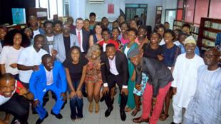 Le Club RFI Lagos (Nigeria).