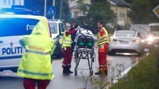 """Autoridades norueguesas confirmaram neste domingo (11) que ataque contra a mesquita Al-Nour, em Baerum, foi """"uma tentativa de ataque terrorista""""."""