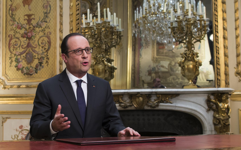 Новогоднее обращение Франсуа Олланда, 31 декабря 2014 г.