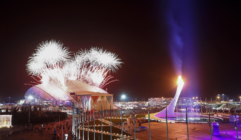 Церемония закрытия ХХ зимних Олимпийских Игр в Сочи 23 февраля 2014