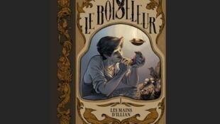 Couverture de la bande dessinée de Gaëlle Hersent et Hubert, «Le Boiseleur. Les mains d'Illian» paru aux Éditions Soleil, collection Métamorphose.