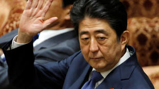 Japan's Prime Minister Shinzo Abe attends a lower house budget committee session at the parliament in Tokyo, Japan July 24, 2017.