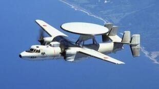 疑似日本反潛偵察機飛行圖