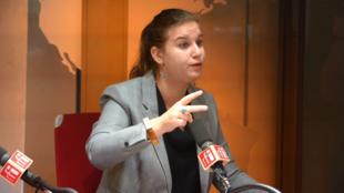Mathilde Panot sur RFI le 15 novembre 2018.