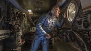 El actor Héctor Noas interpreta al último cosmonauta soviético.