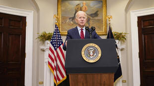 Joe Biden à la Maison Blanche, le 27 février 2021.