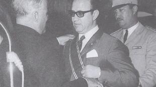 As Interior Minister, Beji Caïd Essebsi receives Tunisia's highest order of Independence by then President Habib Bourguiba on June 1, 1966