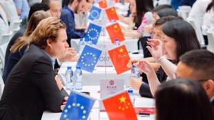 """""""2017中國─歐盟中小企業合作對接會"""" 在布魯塞爾舉行  2017年6月2日"""