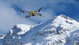 Novadem est spécialisée dans la robotique aérienne, ici le NX110.
