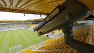 A goal line technology high-speed camera