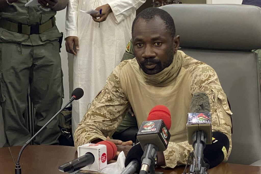 Kanali Assimi Goïta kiongozi wa CNSP, kundi la maafisa waliofanya mapinduzi nchini Mali.