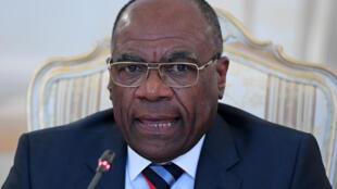 Le vice-premier ministre en charge des Affaires étrangères de la RDC, Léonard She Okitundu, le 22 mars 2017.