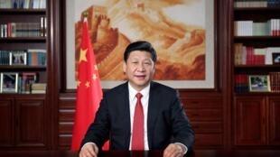 中國國家主席習近平周二發表2014新年賀詞