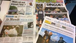 Diários franceses 15/08/2014