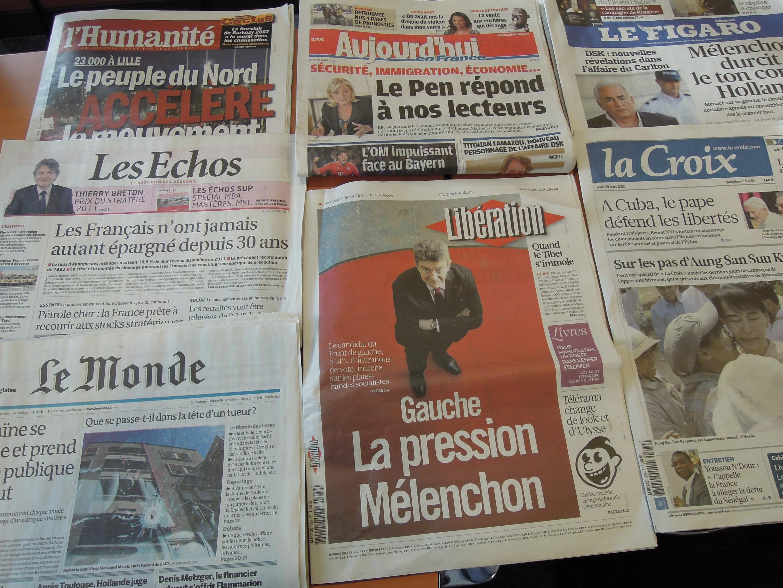Diários franceses    29/03/2012