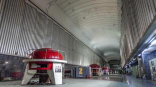 Tabqa dam turbine hall, Tabqa Syria