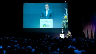 Inauguración de la cumbre Mundial de la Salud. Berlín, 27 de octubre de 2019.