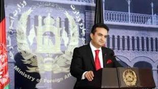 احمد شکیب مستغنی، سخنگوی وزارت امور خارجۀ افغانستان