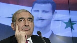 Qadri Jamil, Mataimakin Firaministan kasar Syria wanda ya kai ziyara kasar Rasha.