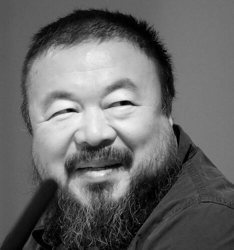 Ai Weiwei, un artiste chinois contestataire.